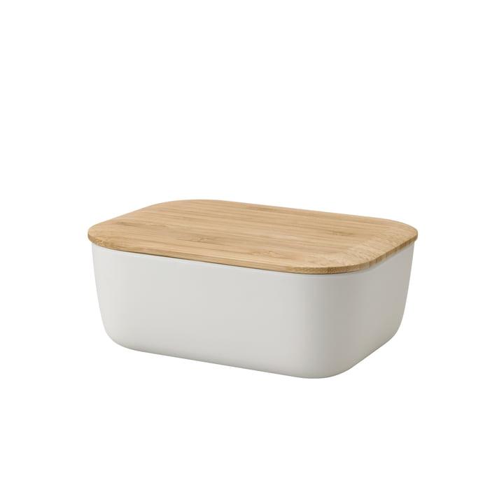Die Box-It Butterdose von Rig-Tig by Stelton, hellgrau