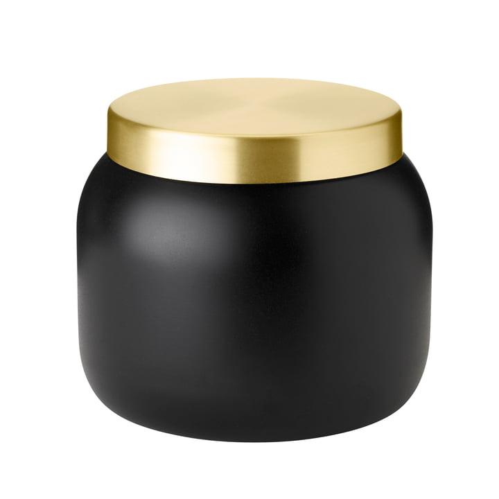 Der Collar Eiseimer von Stelton, 1.8 l, schwarz / gold