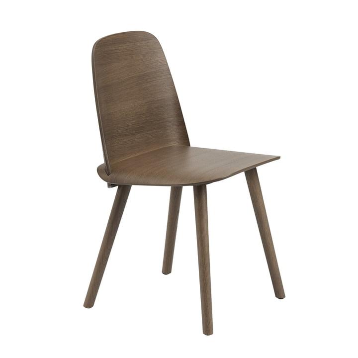 Der Nerd Chair von Muuto in dunkelbraun