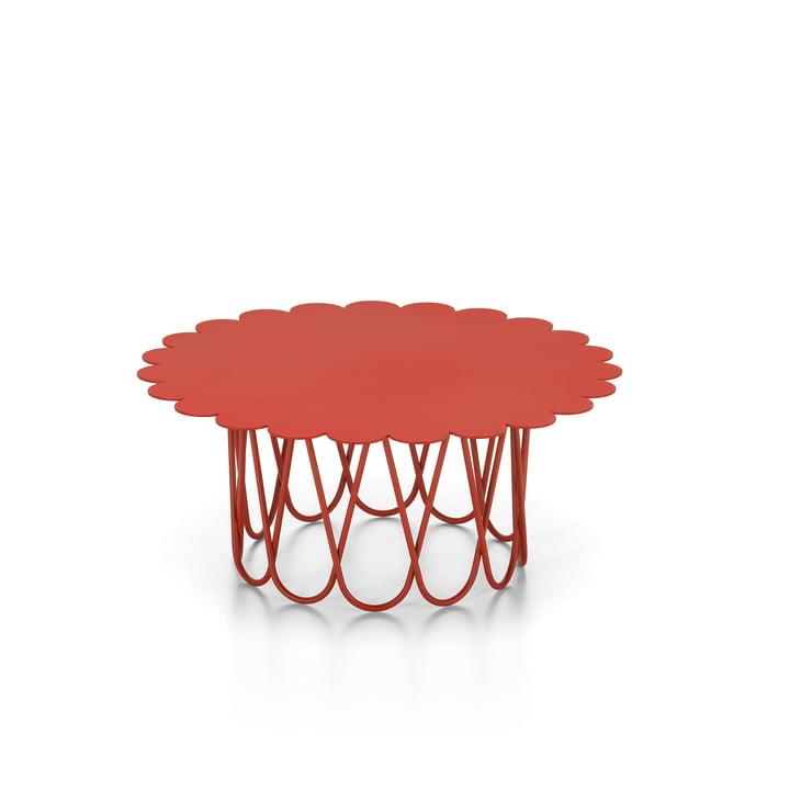 Flower Table klein, rot von Vitra