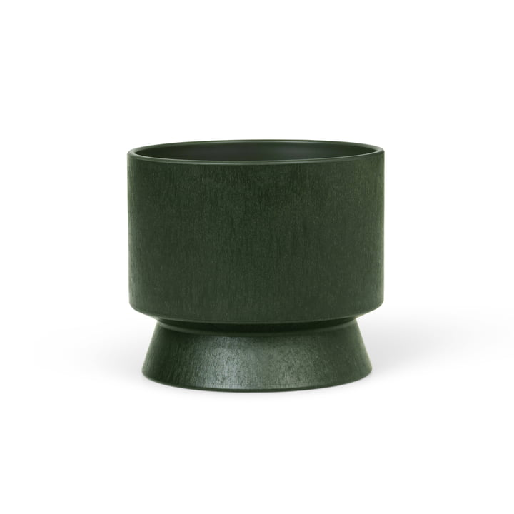 Der Übertopf Recycelt von Rosendahl, Ø 12 cm, dunkelgrün