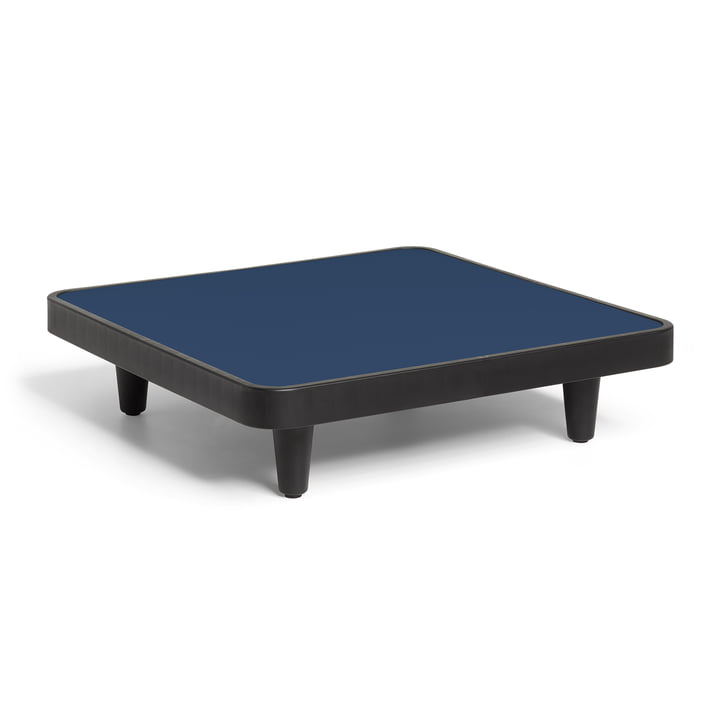 Fatboy - Paletti Outdoor-Tisch H 22,5 cm, 90 x 90 cm, dark ocean