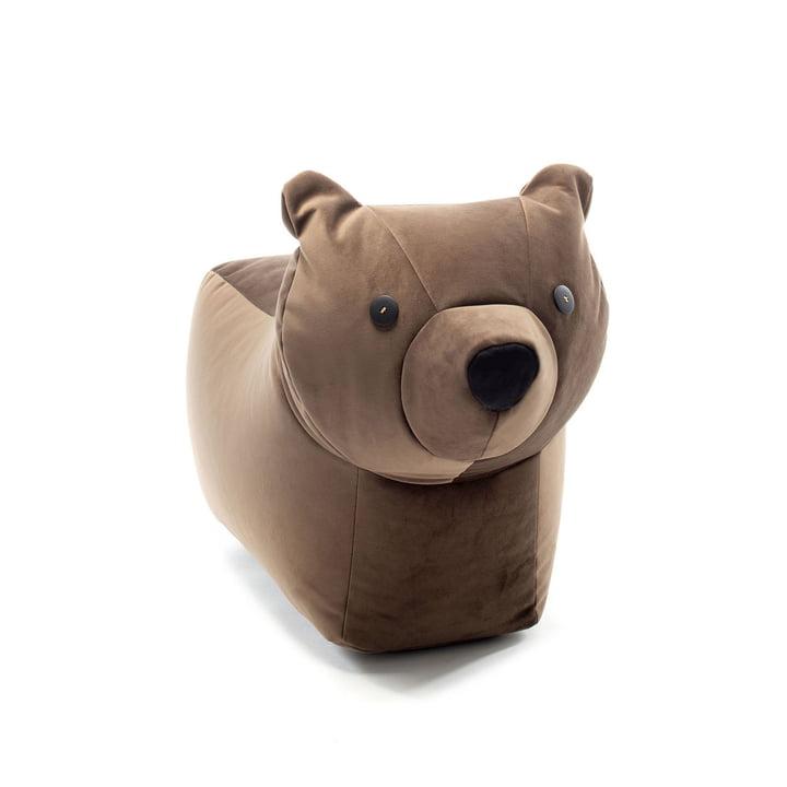 Das Happy Zoo Spieltier Bär Browny von Sitting Bull, dunkelbraun