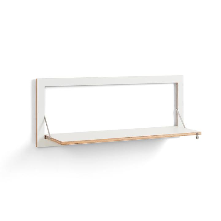 Fläpps Regal 100 x 40 cm mit einem Regalboden von Ambivalenz in weiß