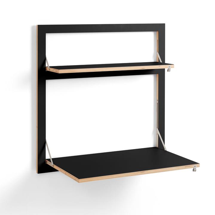 Fläpps Sekretär/in 80 x 80 cm von Ambivalenz in schwarz