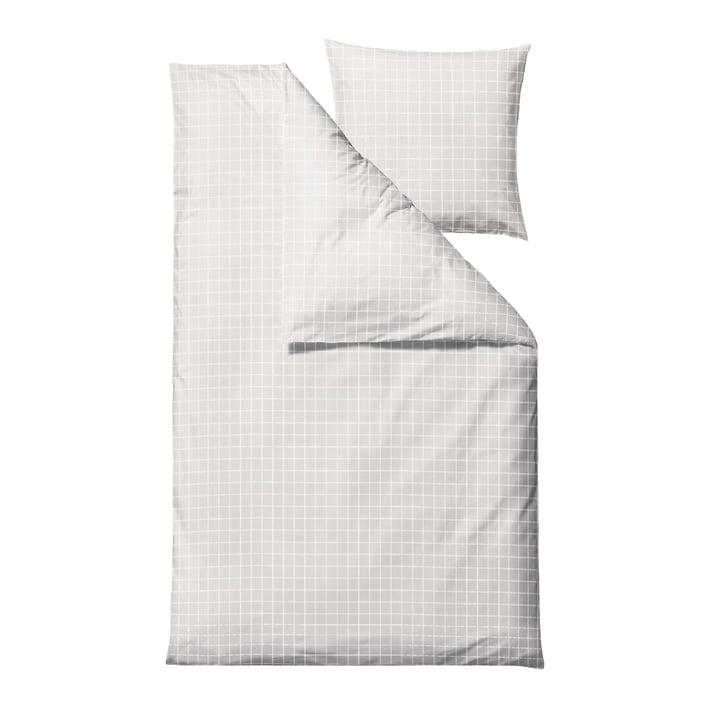 Die Clear Damask Bettwäsche von Södahl, 135 x 200 cm, weiß