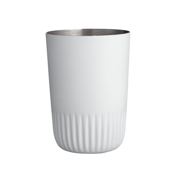 Der Plissé Zahnputzbecher von Södahl, weiß