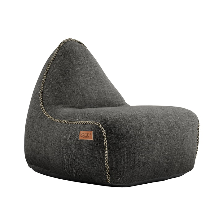 Der RETRO it Cobana Outdoor Sitzsack von SACK it, grau
