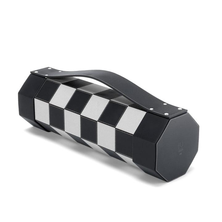 Rolz mobiles Schach- und Dame-Set von Umbra in schwarz