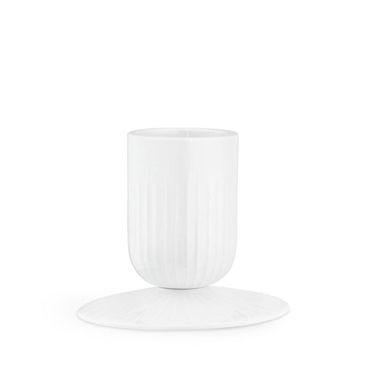 Hammershøi Blockkerzenhalter Ø 5 cm von Kähler Design in weiß