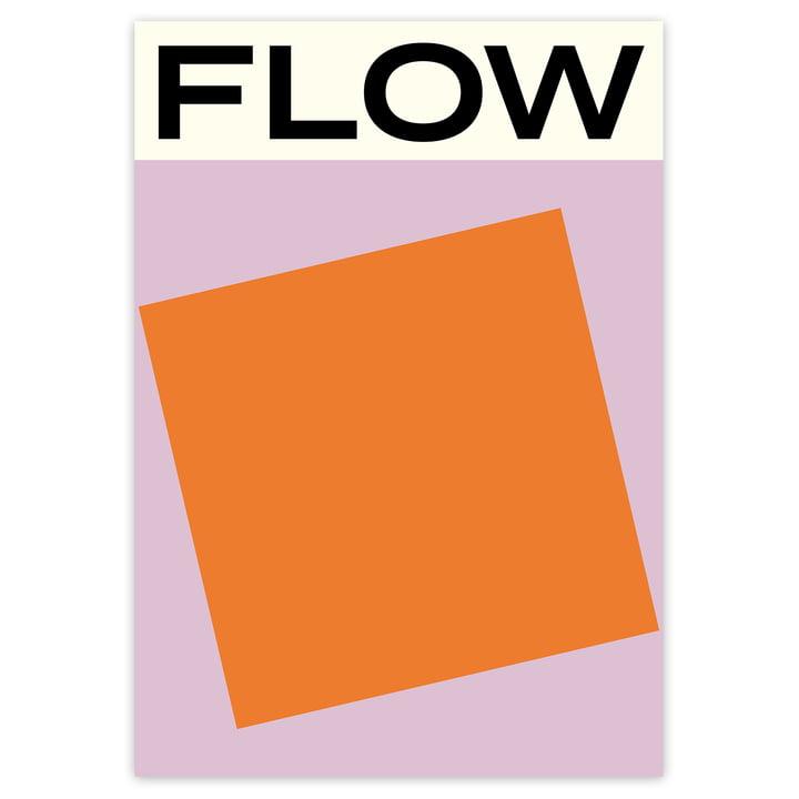Das Flow Poster von artvoll ohne Rahmen