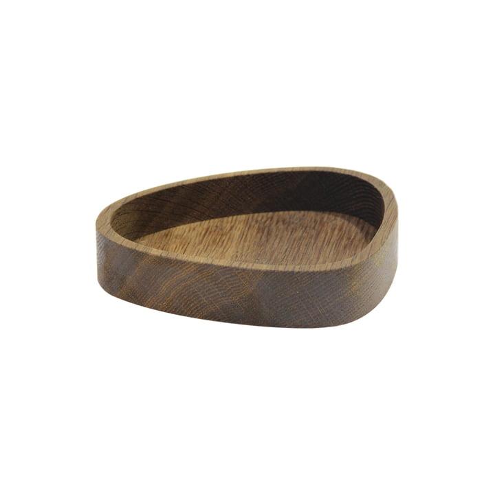 Wood Box Curve S 12,5 x 14 cm von LindDNA in Eiche geräuchert