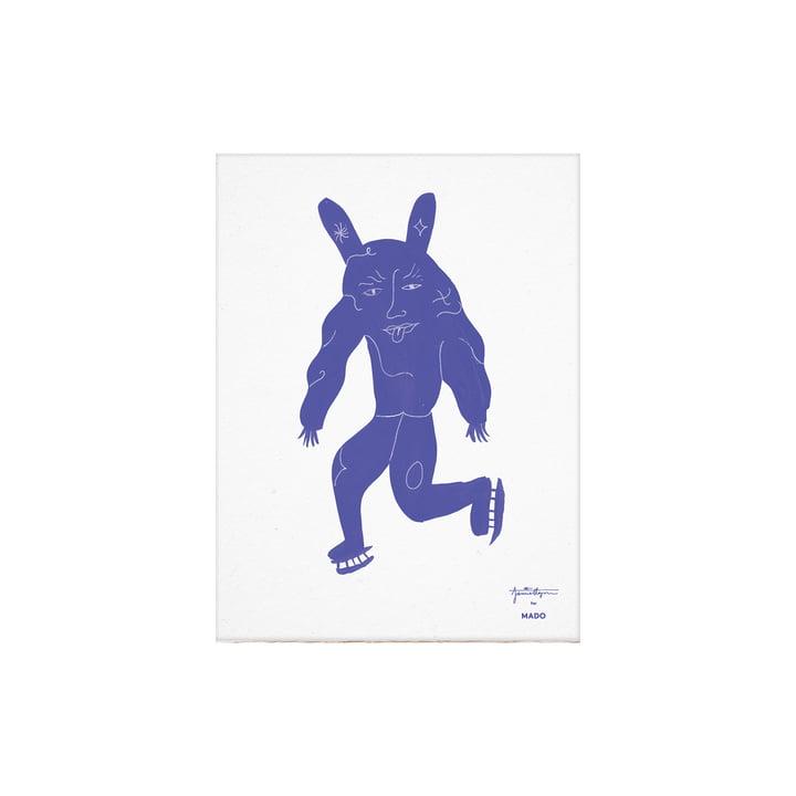 Das Skate Pan Poster von Paper Collective, 30 x 40 cm