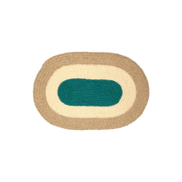 Das Melooni Tischset von Marimekko, jute (Herbst 2021)