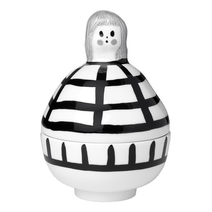 Das Rauha Collectible von Marimekko, weiß / schwarz / grau (Herbst 2021)