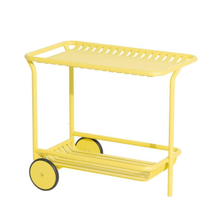 Der Week-End Trolley Outdoor von Petite Friture, gelb
