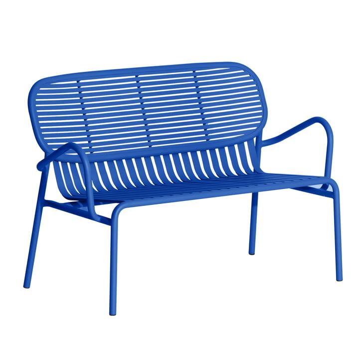 Das Week-End Sofa Outdoor von Petite Friture, blau