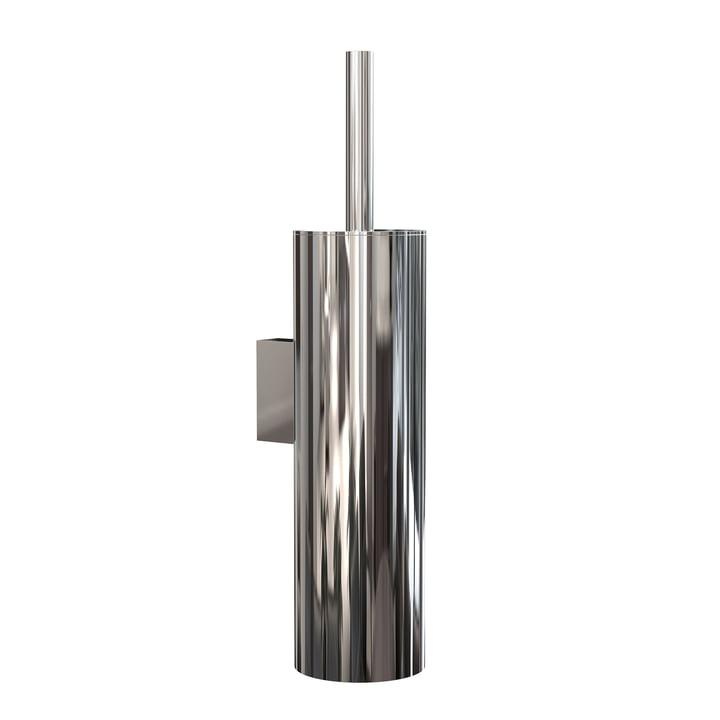 Die Nova2 WC-Bürstengarnitur (Wandmontage) von Frost, Edelstahl poliert
