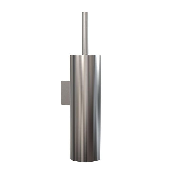 Die Nova2 WC-Bürstengarnitur (Wandmontage) von Frost, Edelstahl gebürstet