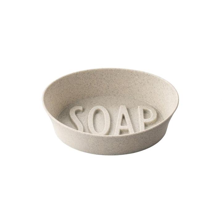 Soap Seifenschale (Recycelt) von Koziol in der Farbe desert sand