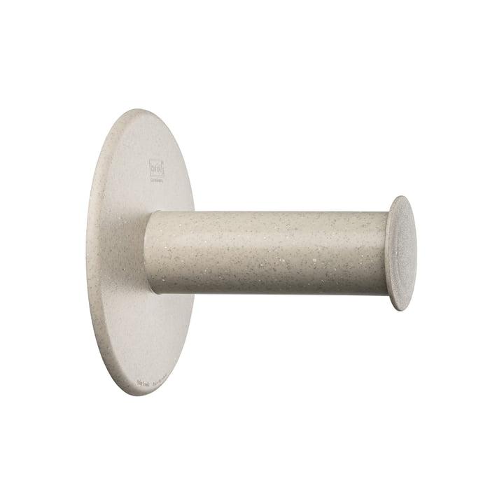 Plug'n Roll Toilettenpapierhalter (Recycelt) von Koziol in desert sand