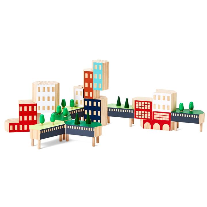 Blockitecture New York City Bausteine von Areaware in der Variante Greenway