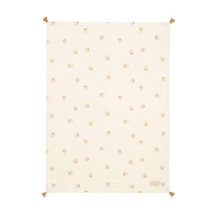 Die Treasure Leichte Decke von Nobodinoz, 70 x 100 cm, blossom
