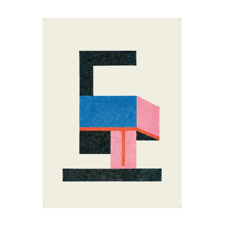 Freddo Poster 47,5 x 67,5 cm von The Wrong Shop in mehrfarbig
