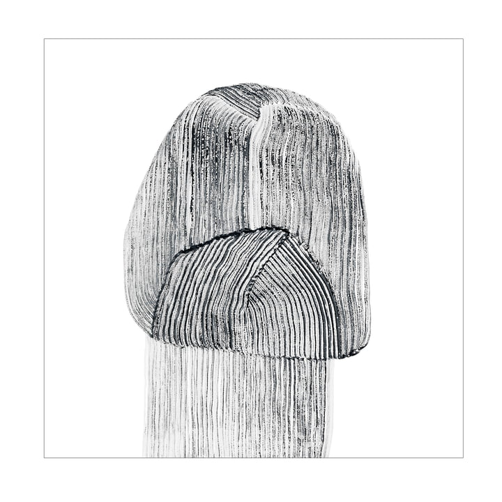 Drawing 9 Poster 67,5 x 67,5 cm von The Wrong Shop in schwarz / weiß