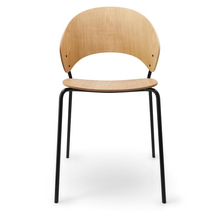 Der Dosina Stuhl von Eva Solo, Eiche hell / schwarz