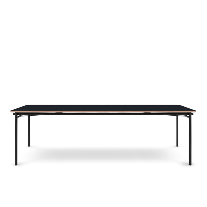 Der Taffel Esstisch (ausziehbar) von Eva Solo, 90 x 200-320 cm, nero
