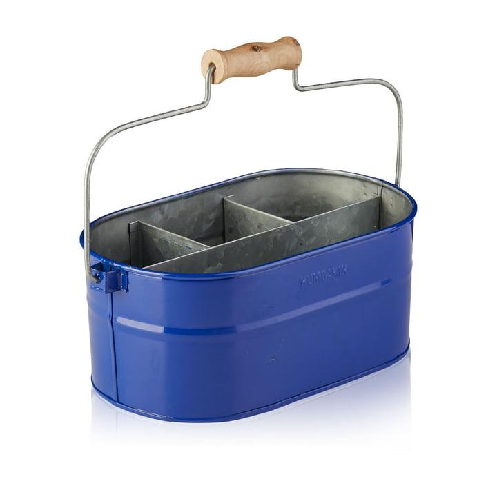 Der Utensilien Behälter von Humdakin, 30 x 19 x 13 cm, blau