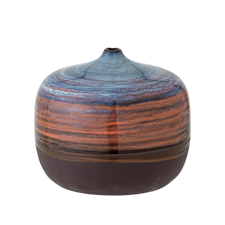 Maes Vase, H 8 cm, blau von Bloomingville