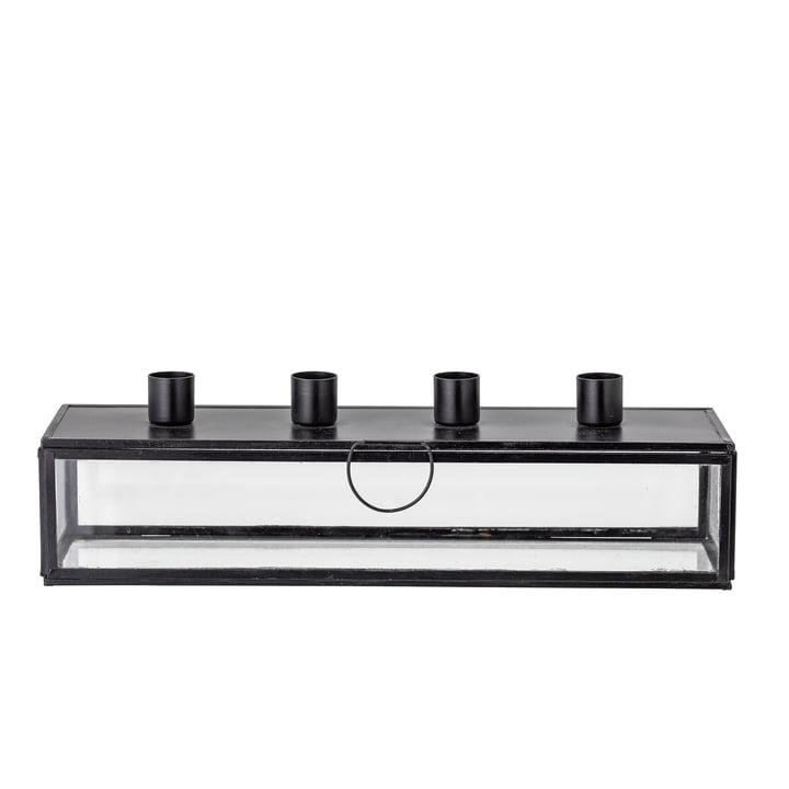 Pelo Adventskerzenhalter L 34 cm von Bloomingville in schwarz