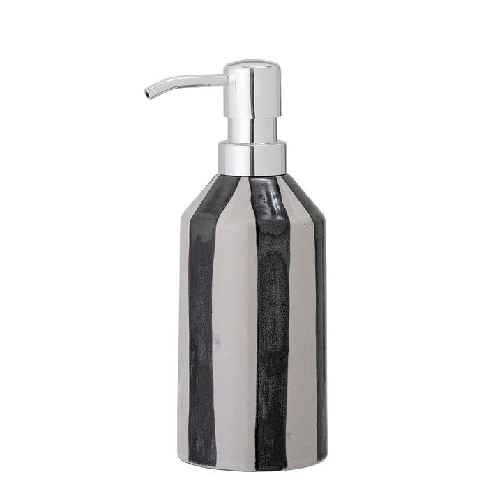 Serina Seifenspender von Bloomingville in schwarz / weiß