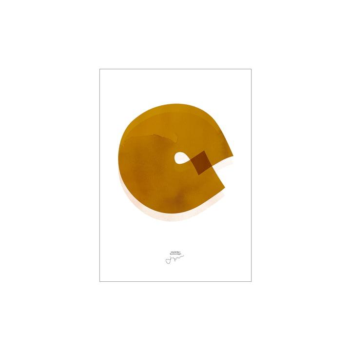 Line Art Poster 01 von Paper Collective, 30 x 40 cm