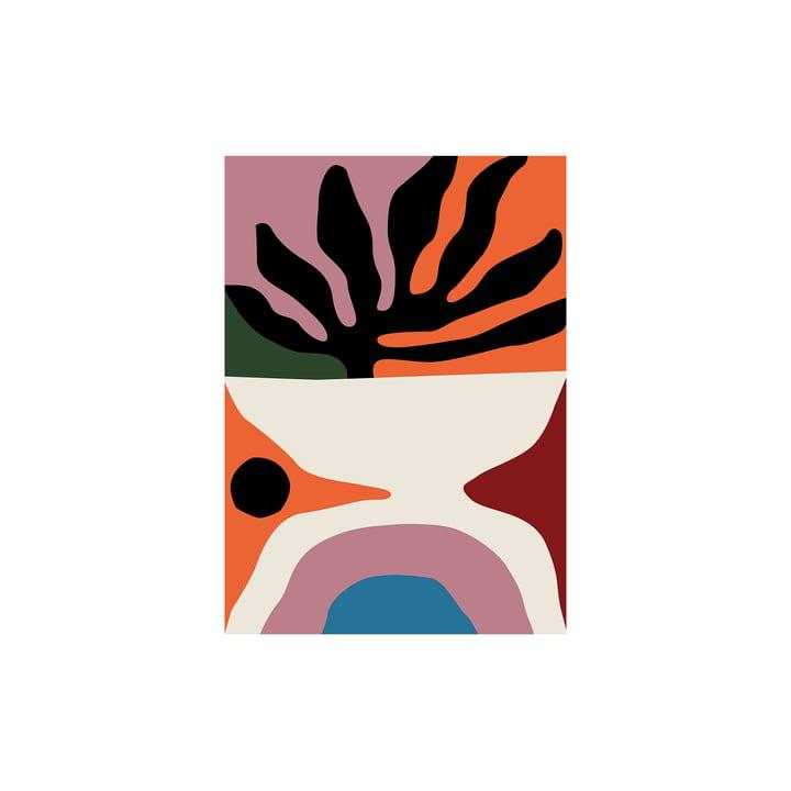Flora Poster von Paper Collective, 30 x 40 cm