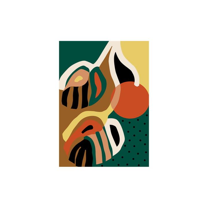 Rama Poster von Paper Collective, 30 x 40 cm