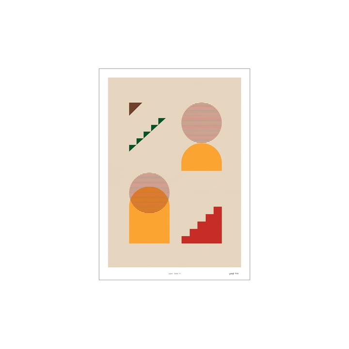 Lunar Series Poster 01 von Paper Collective, 30 x 40 cm