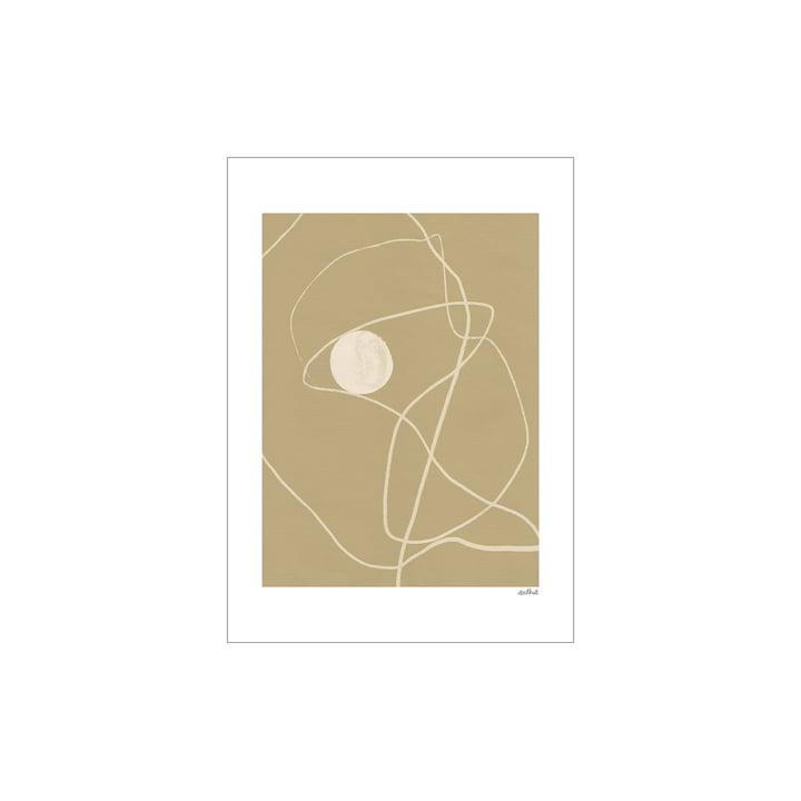 Little Pearl Poster von Paper Collective, 30 x 40 cm