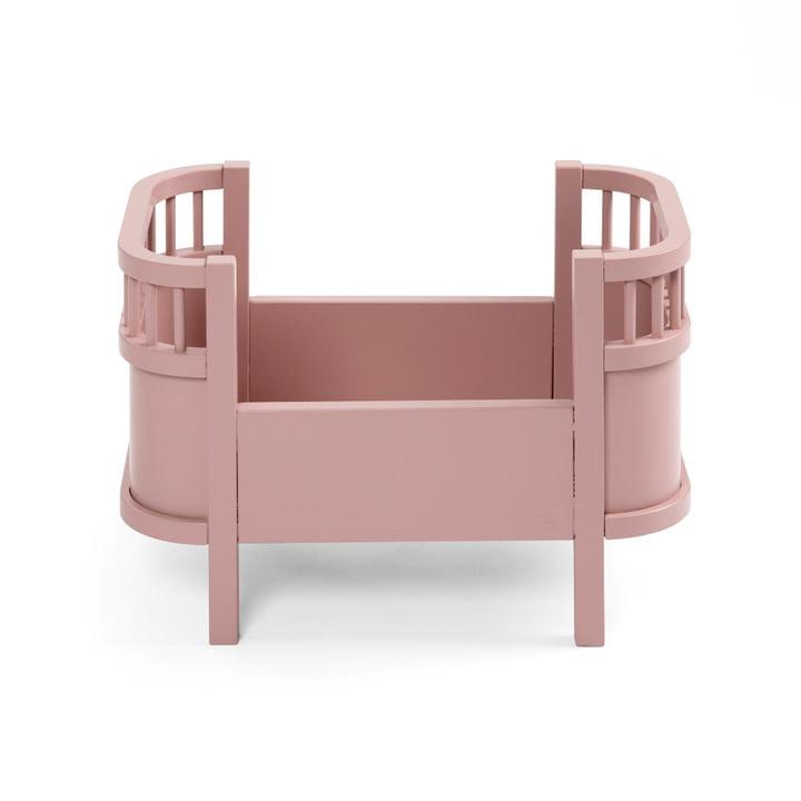 Puppenbett ohne Seitengitter von Sebra in blossom pink