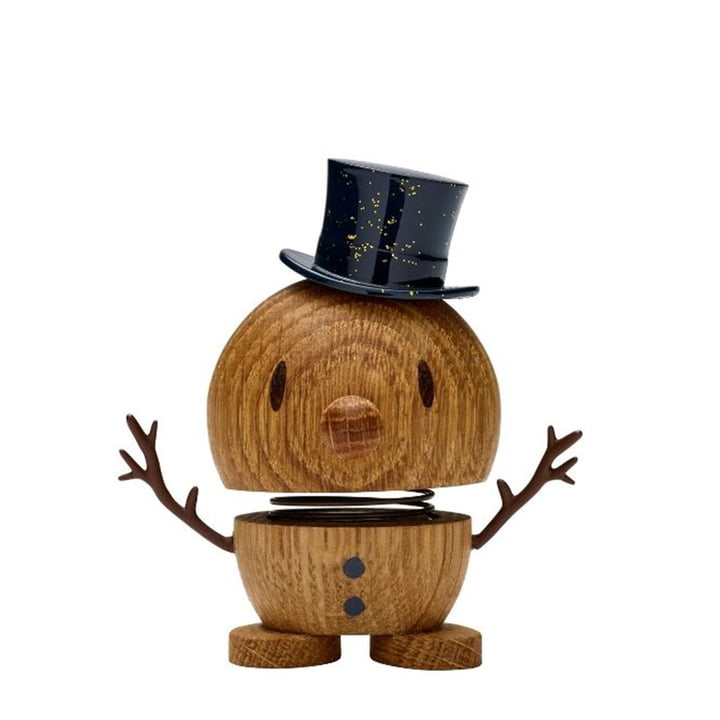 Snowman, klein / Eiche von Hoptimist