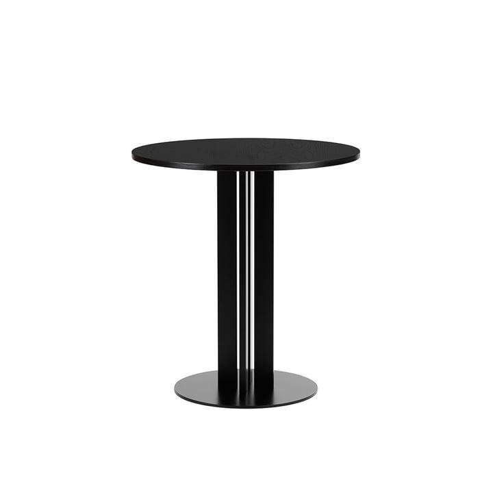 Scala Tisch Ø 70 x H 75 cm von Normann Copenhagen in Eiche schwarz