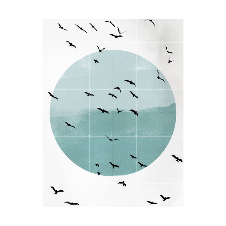 Flying High Wandbild 120 x 160 cm von IXXI