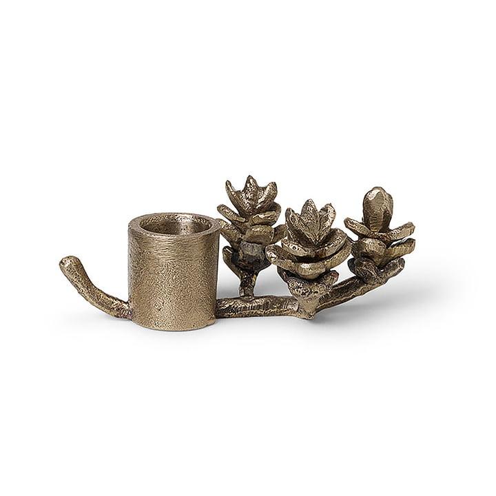 Zweig Kerzenhalter von ferm Living aus Messing