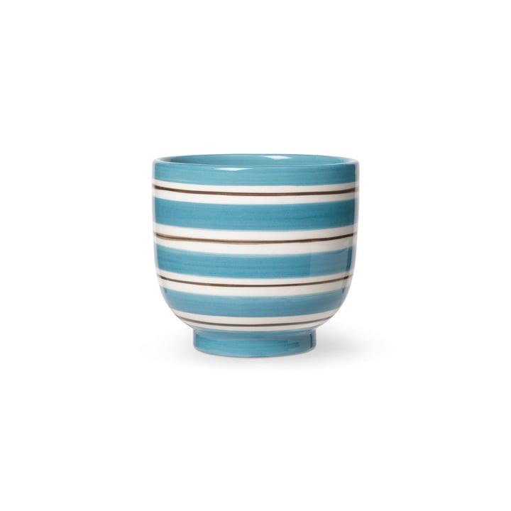 Omaggio Nuovo Übertopf von Kähler Design in der Farbe blau