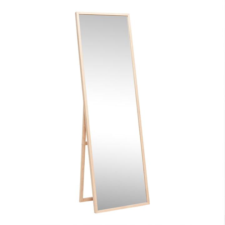 Standspiegel 52 x 167 cm, Eiche natur von Hübsch Interior