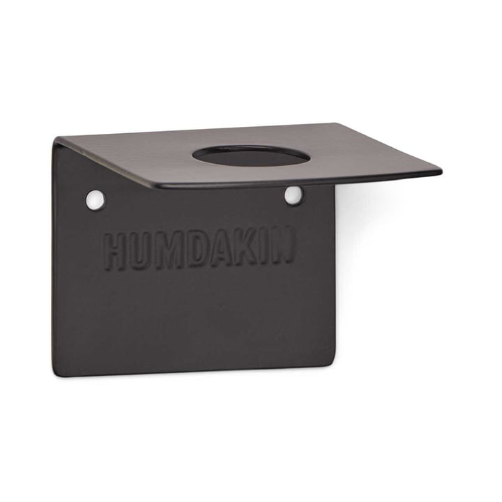 Wandhalterung für Seifen, single von Humdakin in schwarz