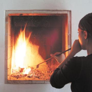 Einfach das Feuer entfachen