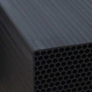 Chikuno - Cube Luftreiniger, Nahaufnahme